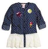 Design History Girls' Embellished Chambray Top - Little Kid