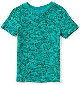Class Club Adventure Wear by Little Boys 2T-5 Alligator-Print Short-Sleeve Tee