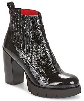 NOW NAPLAK women's Low Ankle Boots in Black