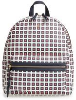 Tory Burch Kerrington Faux Leather Backpack - Orange