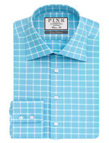 Thomas Pink Horseforth Check Classic Fit Button Cuff Shirt