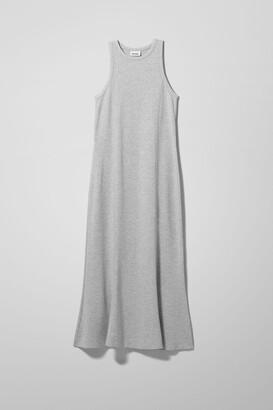 Weekday Telma Dress - Grey