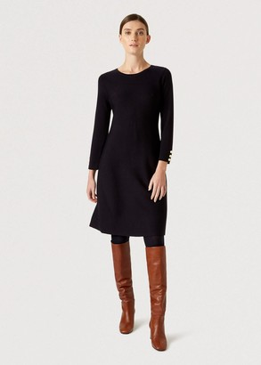 Hobbs Cora Knitted Dress