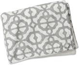 Caden Lane Mod Lattice Blanket in Grey/White