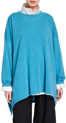 eskandar Cashmere High-Low Sweater