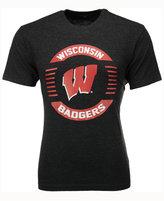 Colosseum Men's Wisconsin Badgers Circle Logo T-Shirt