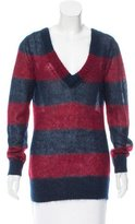 Boy By Band Of Outsiders Striped Cashmere-Blend Sweater