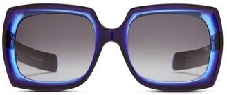 Oliver Goldsmith Sunglasses Fuz 1966 Black & Blue