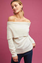 Moon River Miles Off-The-Shoulder Sweater
