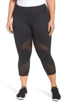 Zella Plus Size Women's Sprint Crop Leggings