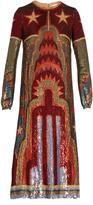 Valentino Skyline sequin-embellished midi dress
