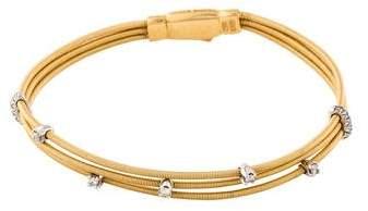 Marco Bicego 18K Diamond Multistrand Bracelet