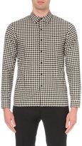 Sandro Checkers Cotton Shirt