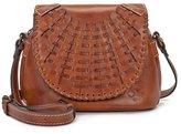Patricia Nash Woven Flap Collection Puccini Saddle Bag