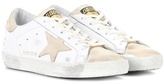 Golden Goose Deluxe Brand Superstar leather and suede sneakers