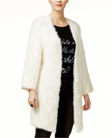 GUESS Open-Front Eyelash Cardigan