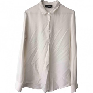 The Kooples Ecru Silk Top for Women