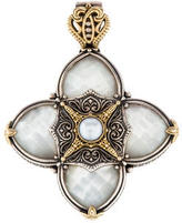 Konstantino Two-Tone Pearl Pendant