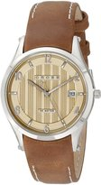 Cross Men's CR8025-06 Lucida Analog Display Japanese Quartz Brown Watch