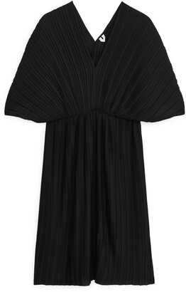 Arket Short Pleated Dress