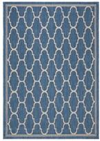 """Reid Blue/Beige Indoor/Outdoor Area Rug Alcott Hill Rug Size: Rectangle 4' x 5'7"""""""