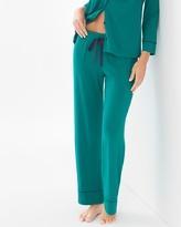 Soma Intimates Pajama Pants Green Envy TL
