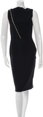 Givenchy Sleeveless Sheath Dress