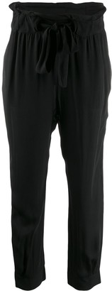 CHUFY Loose Fit Tapered Trousers