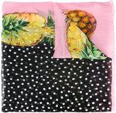 Dolce & Gabbana pineapple print scarf