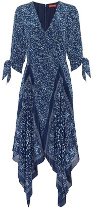 Altuzarra Elvira printed silk dress