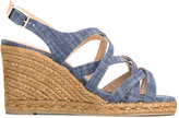 Castaner Becky sandals - women - Cotton/Raffia/Leather/rubber - 35