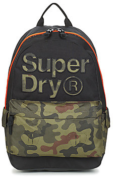 Superdry DOUBLE CAMO MONTANA women's Backpack in multicolour