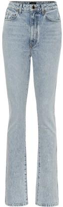 KHAITE Daria high-rise bootcut jeans