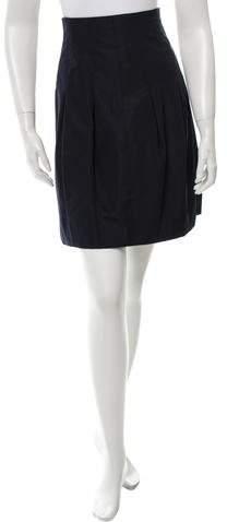 Chanel Silk Knee-Length Skirt
