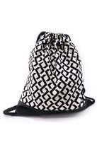 Colorblind Patterns Leather Drawstring Backpack