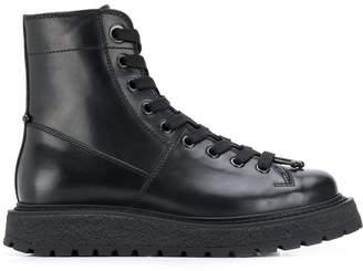 Neil Barrett lace up boots