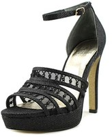 Adrianna Papell Morgan Open Toe Synthetic Sandals.