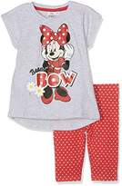 Disney Girl's Minnie Mouse Sportswear Set