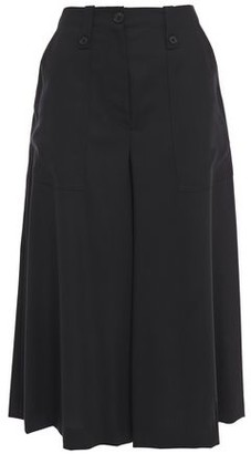 McQ Button-detailed Wool-twill Culottes