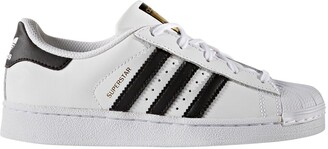 adidas Superstar C Kids Leather Trainers
