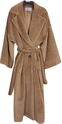 Marella Camel Wool Coats