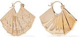 Alison Lou + Hasbro Dollar 14-karat Gold Earrings - one size