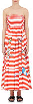 Mira Mikati Women's Icon-Graphic Cotton Strapless Maxi Dress
