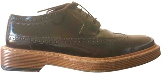 Marc Jacobs Brown Leather Lace ups