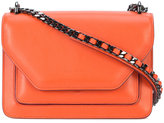 Elena Ghisellini chain strap shoulder bag - women - Leather - One Size