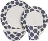 Maxwell & Williams Maxwell & WilliamsTM Flower 4-Piece Place Setting in Indigo/White