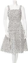 Dolce & Gabbana Printed A-Line Dress