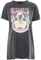 Petite iron maiden t-shirt