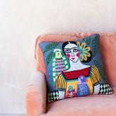 Graham and Green Frida Grey Cushion