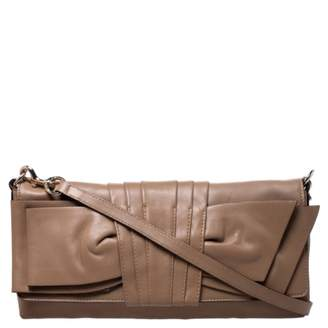 Valentino Beige Leather Clutch bags